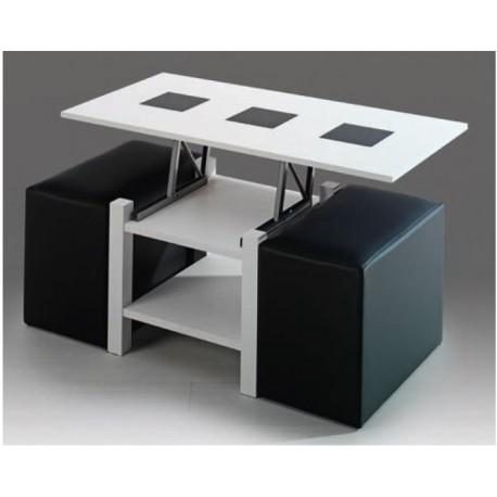 Hacer mesa de centro elevable