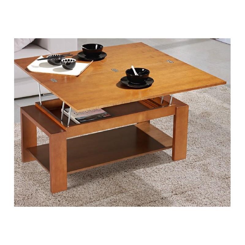 Mesa de centro convertible mod venecia furnet - Mesa de centro convertible en mesa de comedor ...