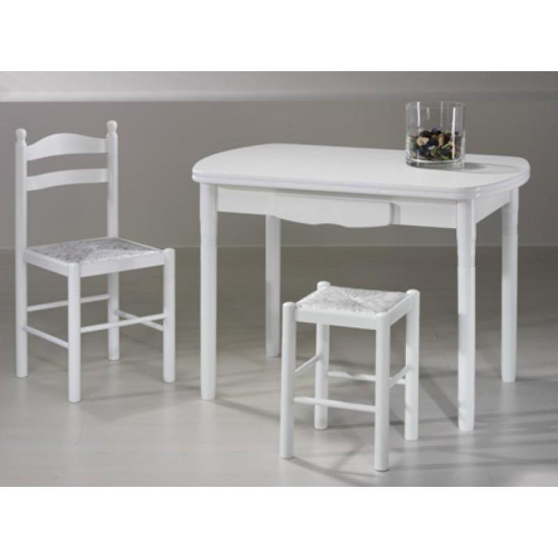 Mesa de cocina mod valladolid extensible furnet - Mesas de cocina de madera extensibles ...