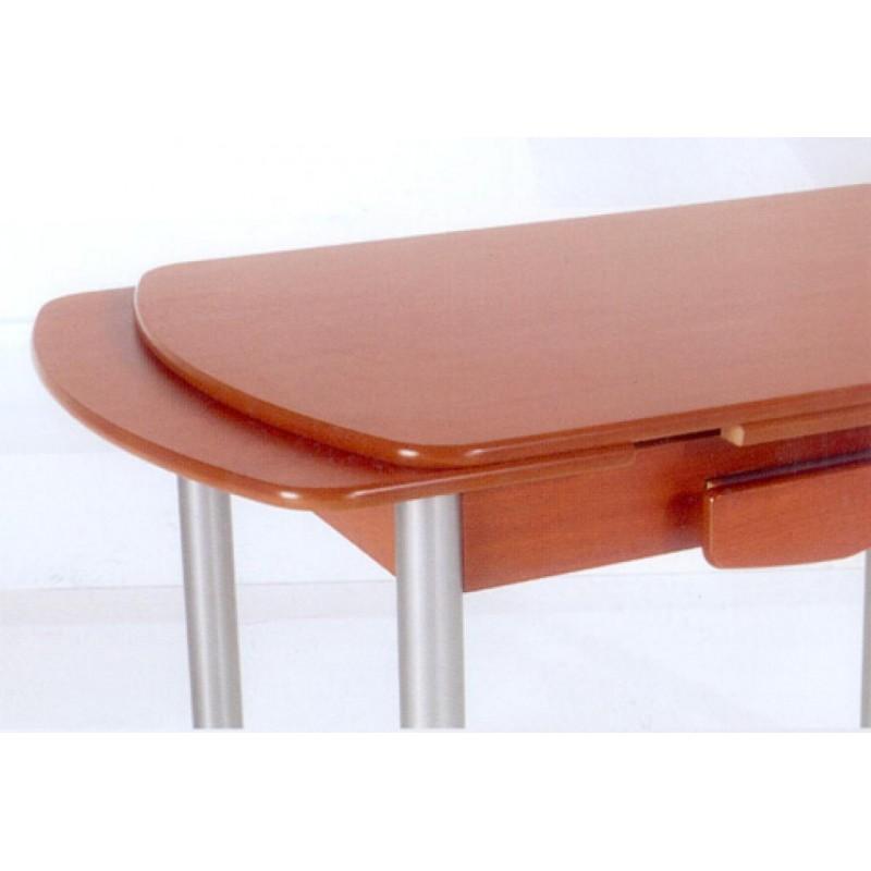Mesa de cocina mod sevilla semi ovalada extensible furnet - Mesas de cocina extensibles ...