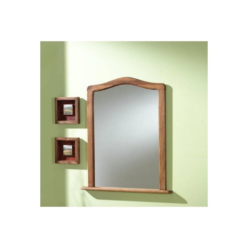 Espejo marco pino mod curva furnet for Espejo marco wengue