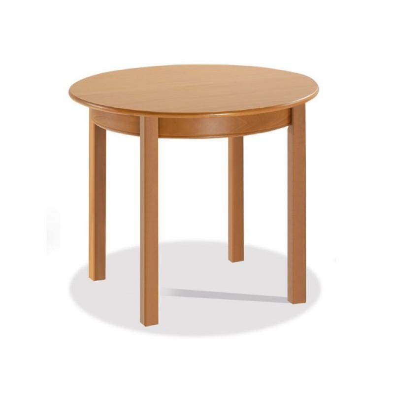 Mesa mod barcelona redonda extensible furnet - Mesa de cocina redonda extensible ...