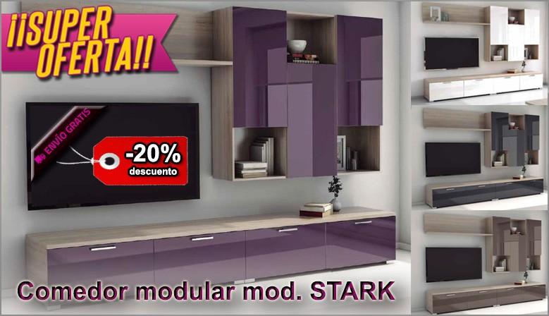 Oferta comedor modular moderno
