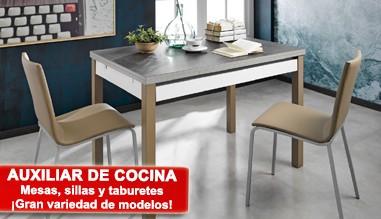 Auxiliar de cocina: Mesas, sillas y taburetes