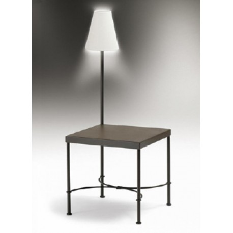 Mesa de rinc n mod denver con luz furnet - Mesas de rincon ...