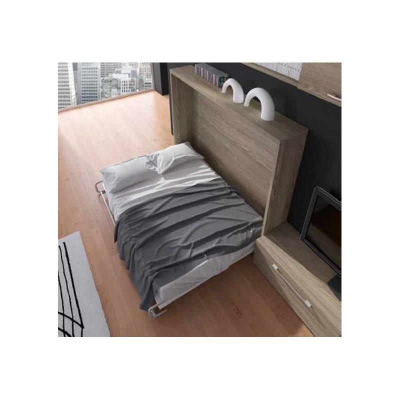 Cama horizontal abatible mod spider spacio 103 furnet - Cama abatible horizontal 135 ...