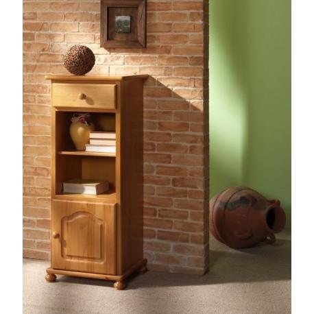 Mueble auxiliar pino 50 furnet for Muebles de pino color miel