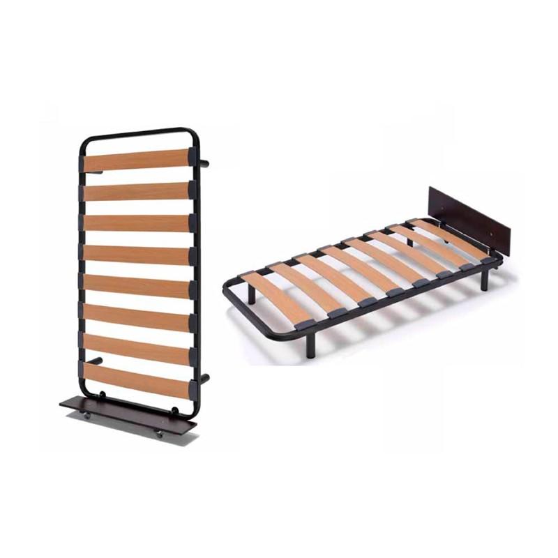 Somier con ruedas bajo cama elegant somier de arrastre bajo cama with somier con ruedas bajo - Wandklappbett selber bauen ...