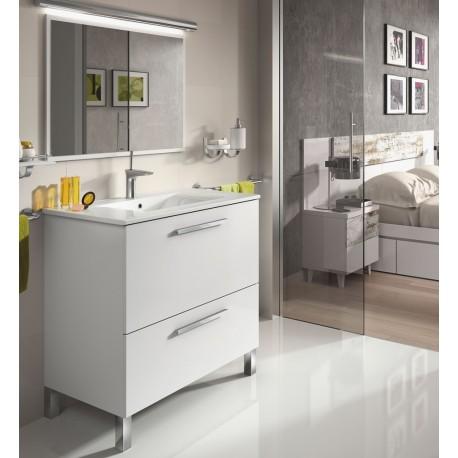 Mueble ba o con espejo mod sintra furnet for Mueble con espejo