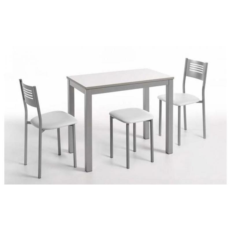 Mesas de cocina a medida por ejemplo una mesa auxiliar for Cajonera blanca barata